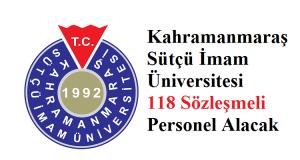 Sütçü İmam Üniversitesi Sözleşmeli 118 sağlık personeli alacak