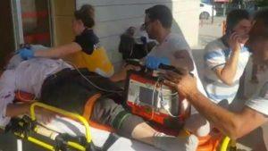 Bursa'da Ambulansın çarptığı kişi ağır yaralandı