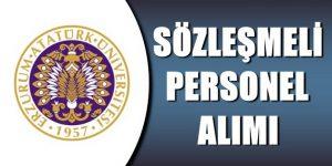 Atatürk Üniversitesi Sözleşmeli Sağlık Personeli Alım İlanı Yayımlandı