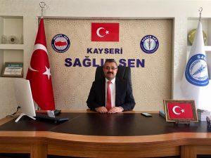 Kayseri Sağlık Sen 'de Yeni Başkan Hakan Keser Oldu