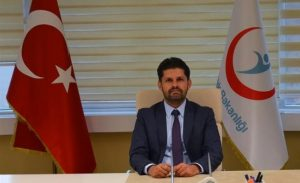 Mehmet Burak Öztop, İzmir İl Sağlık Müdürü olarak atandı