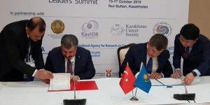 Bakan Koca, Kazakistan İle Sağlık Yatırımları Alanında Mutabakat Zaptı İmzaladı