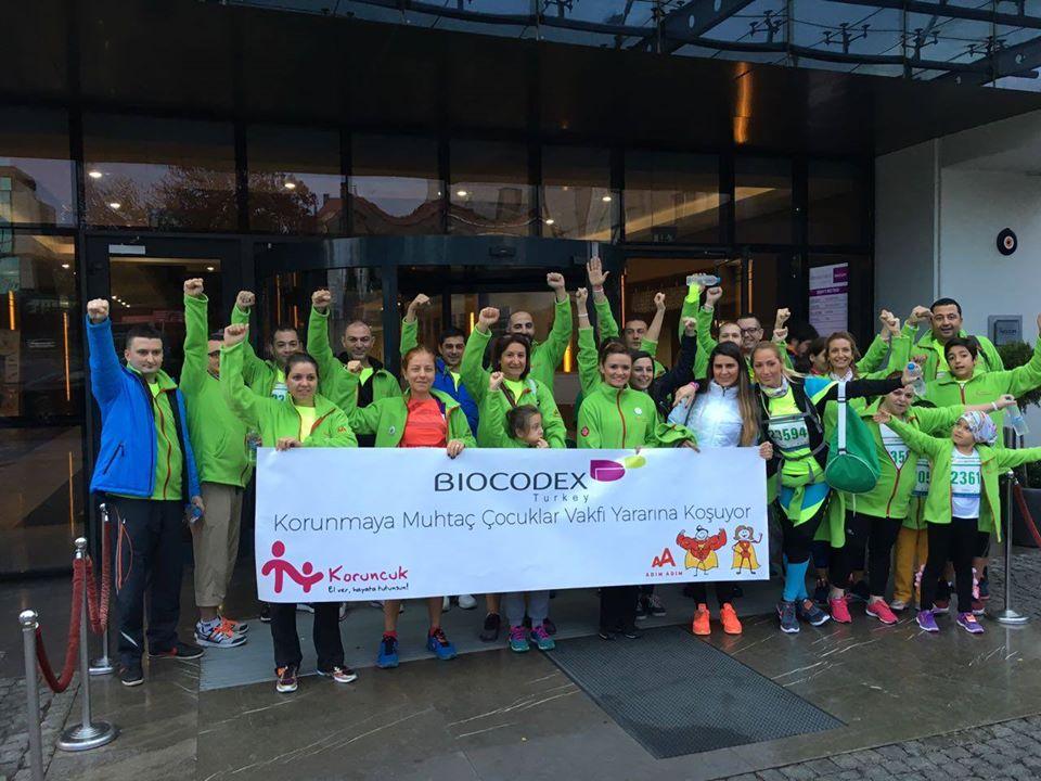 Biocodex Türkiye çalışanları kız çocuklarının eğitimi için koştu