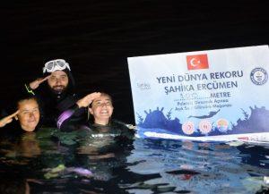 Şahika Ercümen'den DEVA sponsorluğu ile bir dünya rekoru daha
