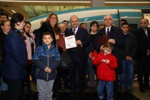 Özel Misafirleri İle Hızlı Tren Bu Sefer de Konya Yolundaydı