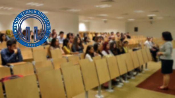 Karadeniz Teknik Üniversitesi 16'sı profesör 97 akademisyen alacak