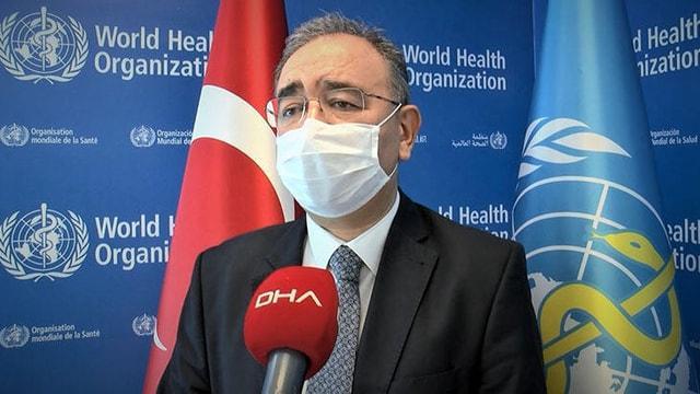 DSÖ'nün Türk yöneticisi gerçek vaka sayısını açıkladı