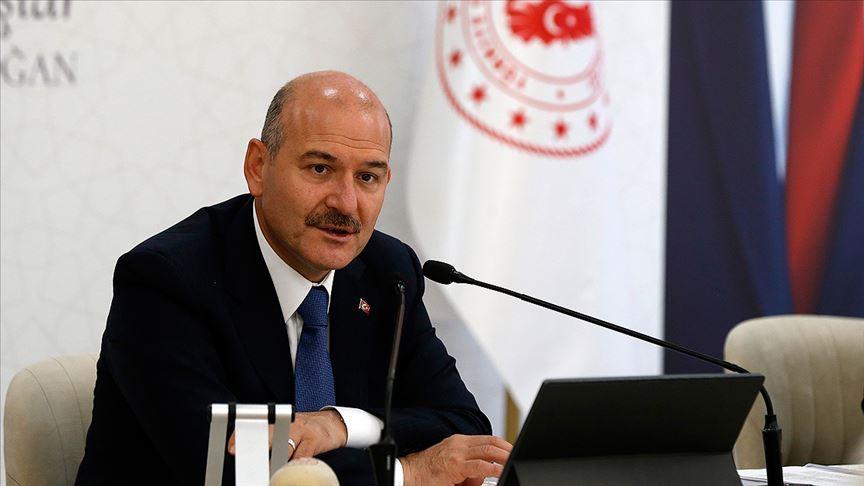 İçişleri Bakanı Süleyman Soylu'nun Covid-19 testi pozitif çıktı
