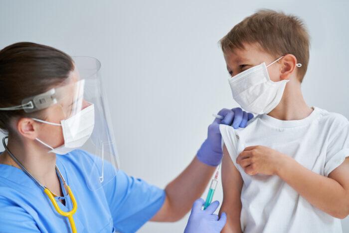 Çocuklarda aşı